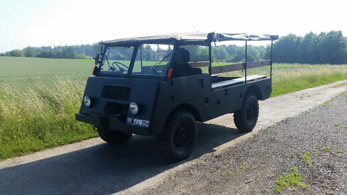 1955 DODGE MOWAG GW 3500 4x4 Historic vehicle For Sale (picture 1 of 6)