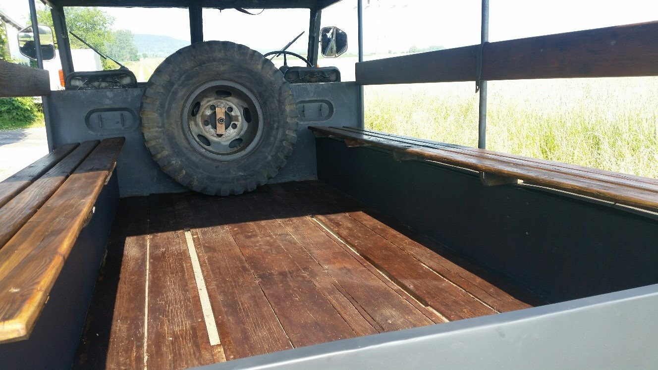 1955 DODGE MOWAG GW 3500 4x4 Historic vehicle For Sale (picture 2 of 6)