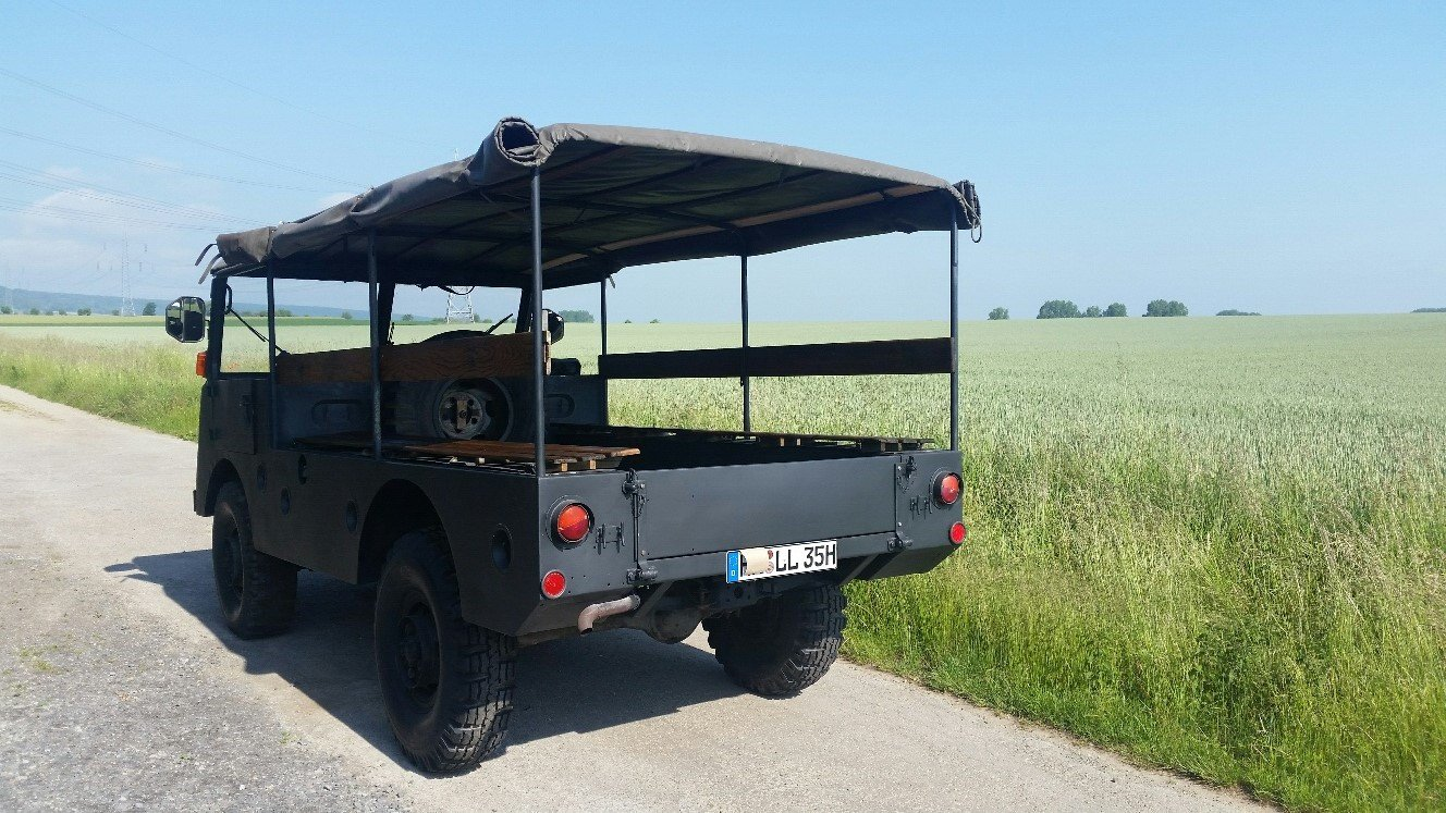 1955 DODGE MOWAG GW 3500 4x4 Historic vehicle For Sale (picture 3 of 6)