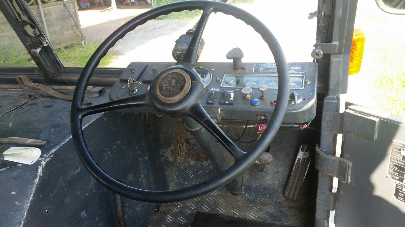 1955 DODGE MOWAG GW 3500 4x4 Historic vehicle For Sale (picture 4 of 6)