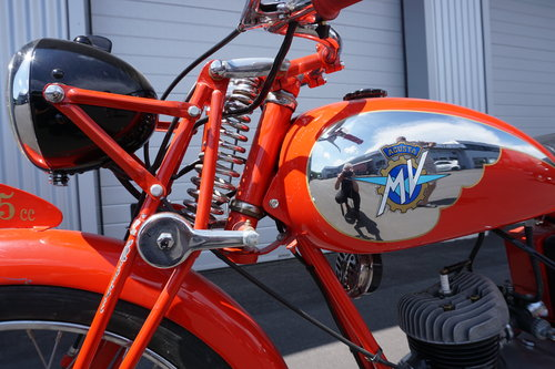 1952 MV Agusta 125TEL sport  For Sale (picture 6 of 6)
