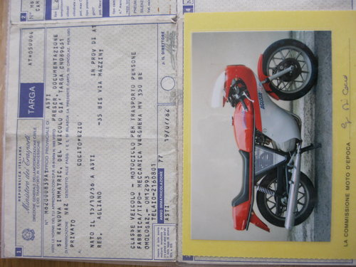 1982 MV Agusta Ipotesi 350 year 1977 For Sale (picture 4 of 6)