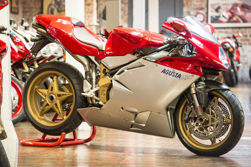 2004 MV AGUSTA F4 750 Serie Oro Brand New Old Stock For Sale (picture 1 of 6)