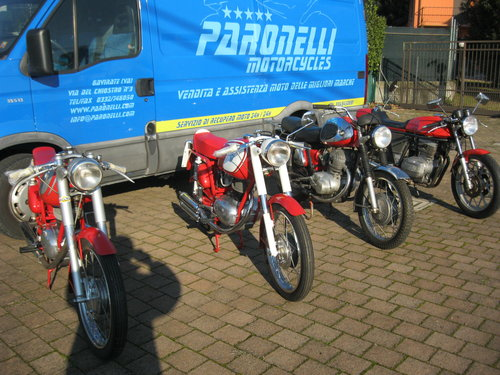 1961 MV Agusta Rapido Sport and Ipotesi For Sale (picture 1 of 6)
