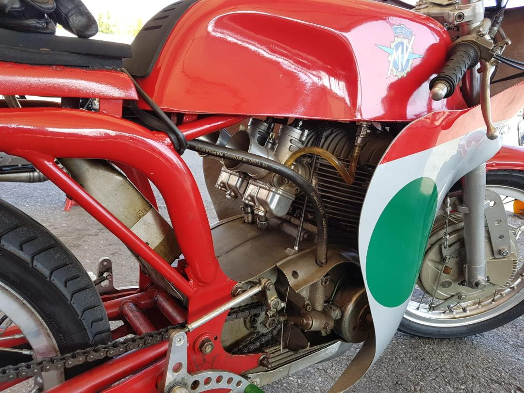 1968 MV Agusta 250 by Bergamonti, only 5 made SOLD (picture 4 of 6)