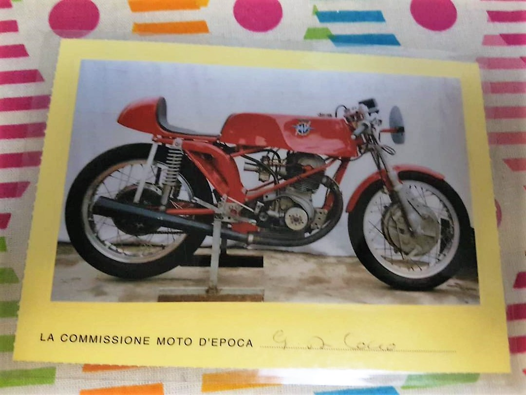 1968 MV Agusta 250 by Bergamonti, only 5 made SOLD (picture 5 of 6)