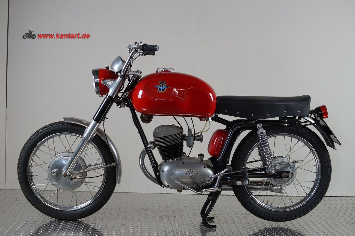 1955 MV Augusta 125 Rapida America, 125 cc, 7 hp, 10000 km For Sale (picture 1 of 6)