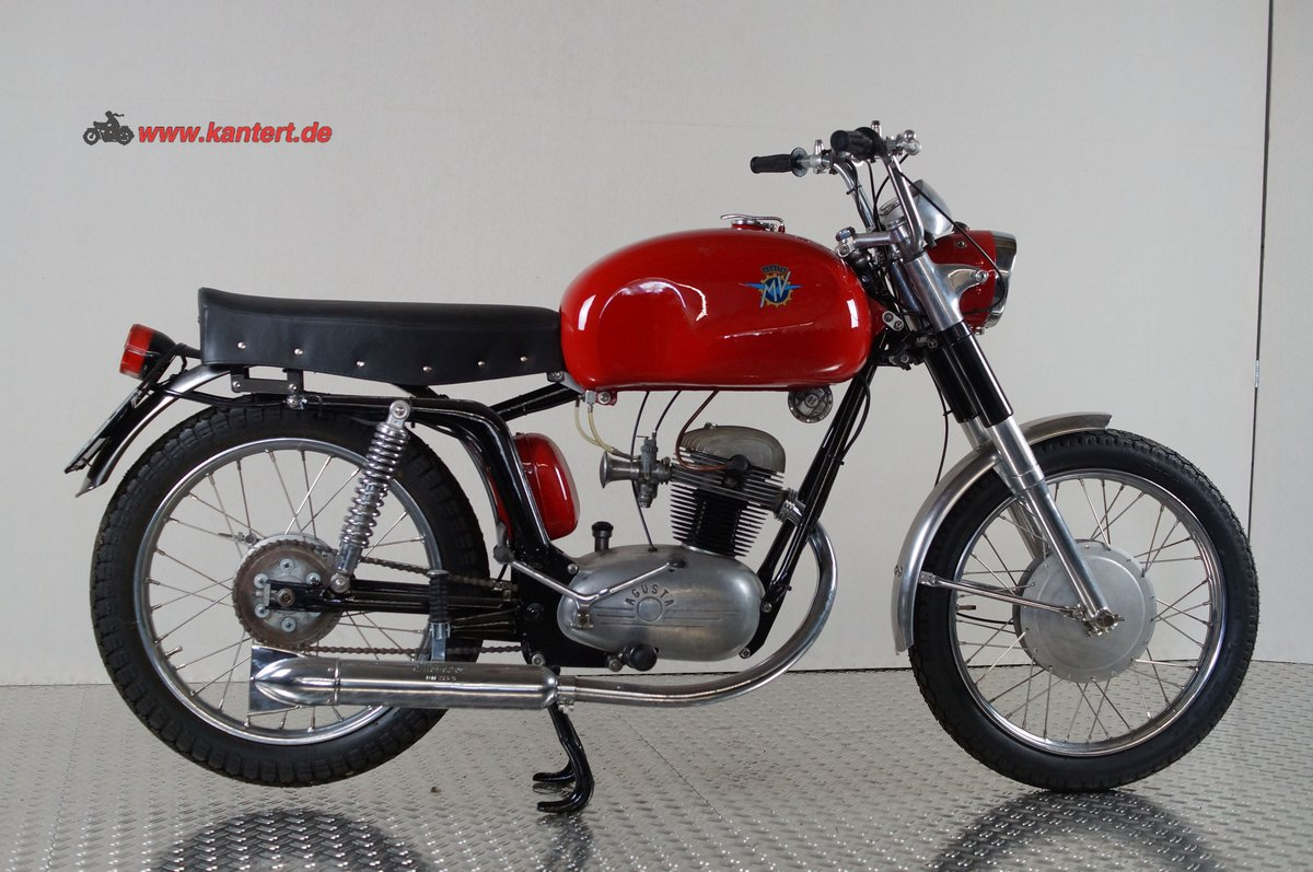 1955 MV Augusta 125 Rapida America, 125 cc, 7 hp, 10000 km For Sale (picture 2 of 6)