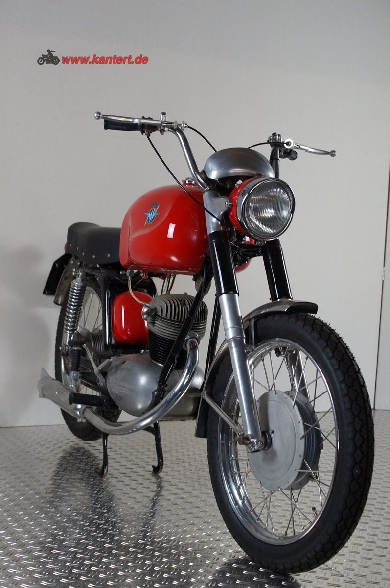 1955 MV Augusta 125 Rapida America, 125 cc, 7 hp, 10000 km For Sale (picture 3 of 6)
