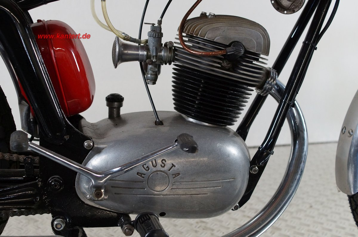 1955 MV Augusta 125 Rapida America, 125 cc, 7 hp, 10000 km For Sale (picture 4 of 6)
