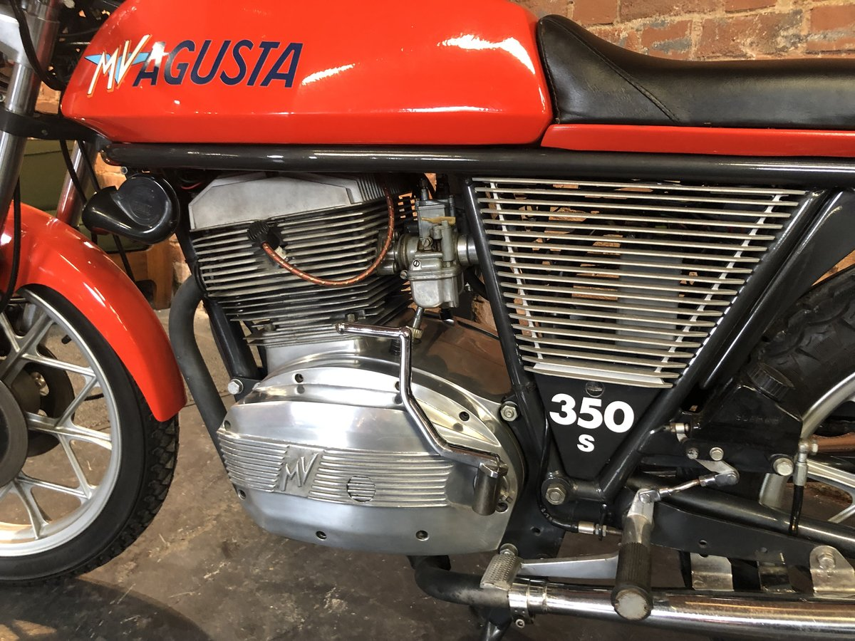 1975 MV AGUSTA 350 S SPORT LPOTESI  For Sale (picture 4 of 6)