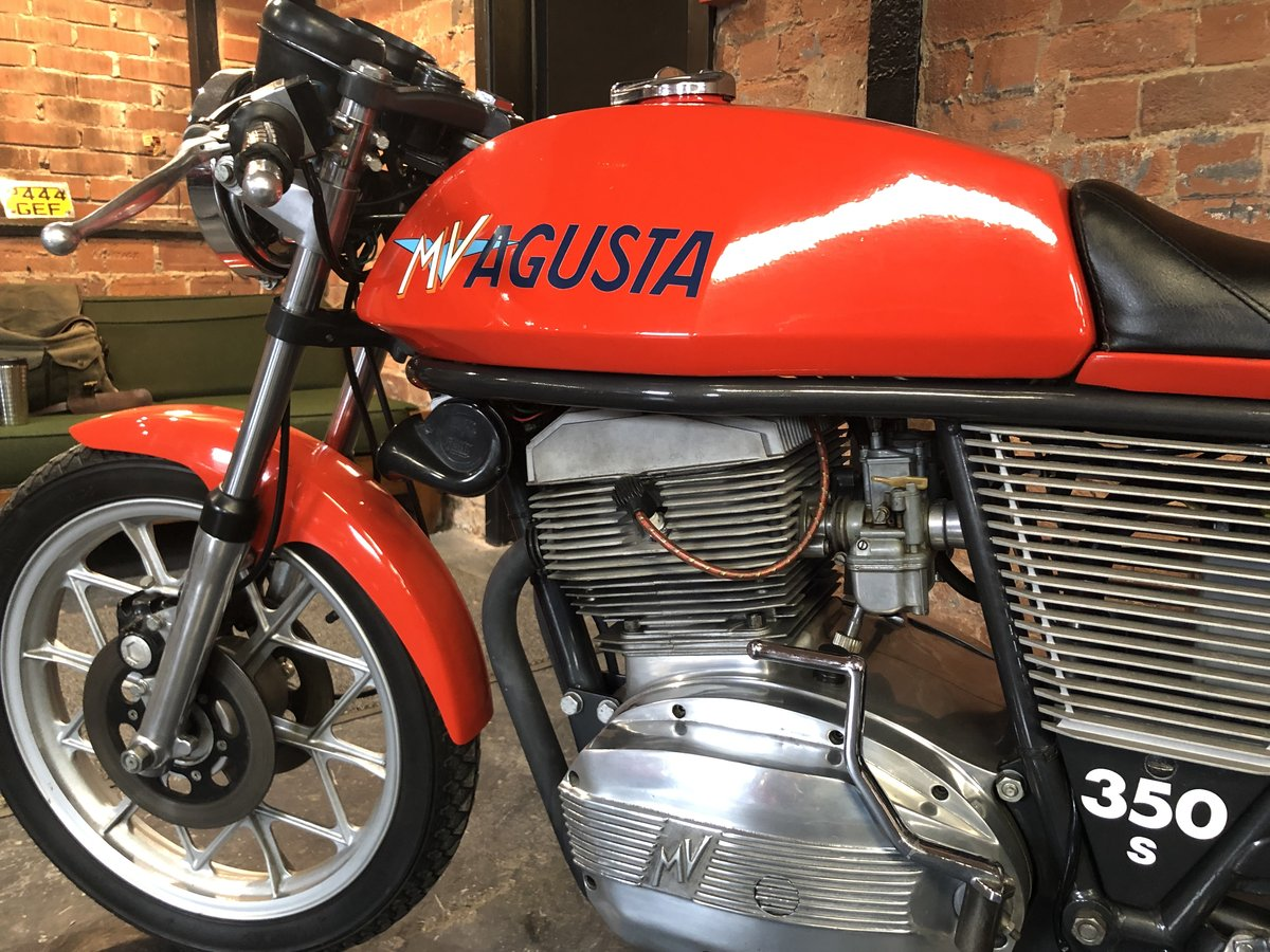 1975 MV AGUSTA 350 S SPORT LPOTESI  For Sale (picture 5 of 6)