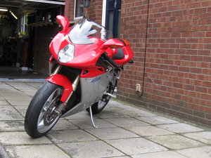 2007 Worlds most beautiful motorcycle MV Augusta F4 For Sale