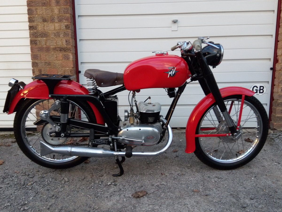 1953 MV Agusta Rare & Beautiful 125 TEL. For Sale (picture 2 of 2)