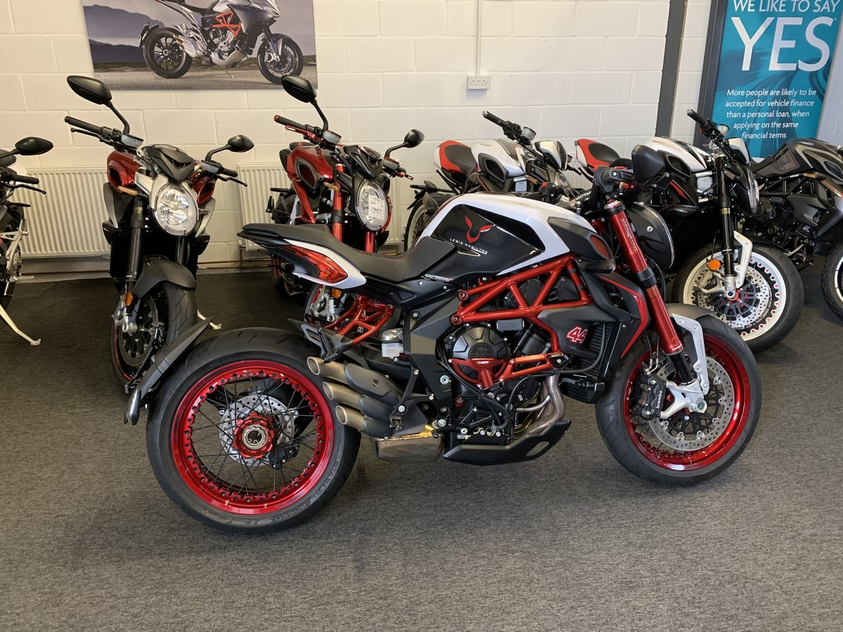 2016 MV Agusta Dragster 800 RR 'Lewis Hamilton' For Sale (picture 1 of 6)