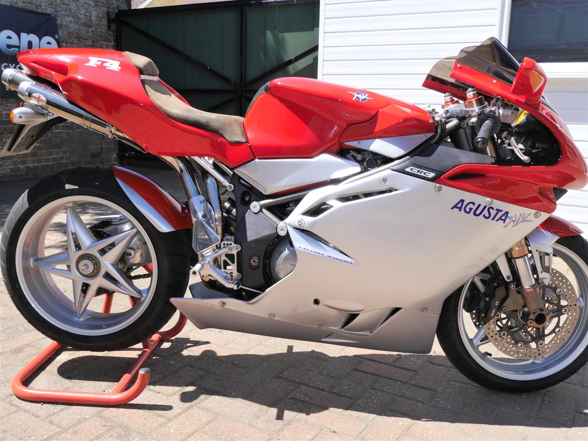 2000 MV Agusta 750F4 S, 7k miles W1N MV plate For Sale (picture 1 of 6)