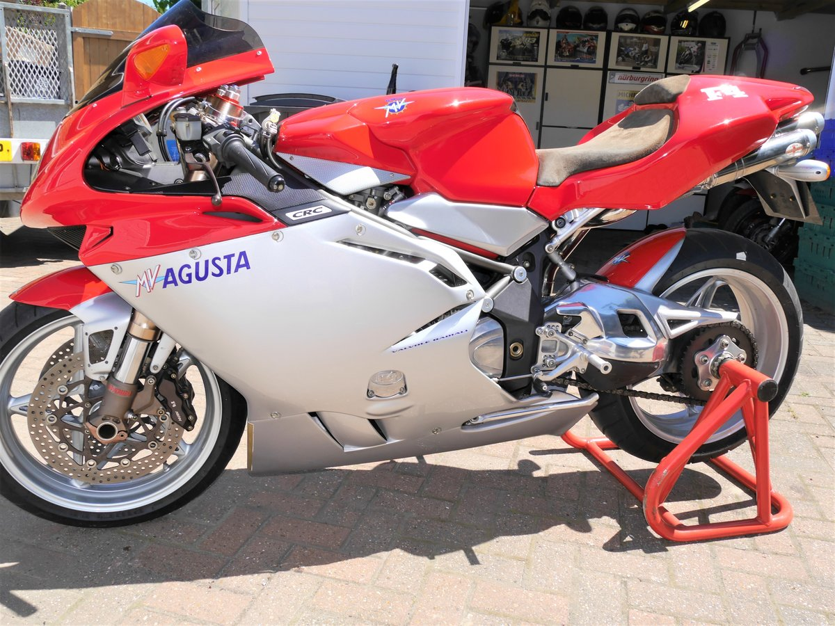 2000 MV Agusta 750F4 S, 7k miles W1N MV plate For Sale (picture 2 of 6)