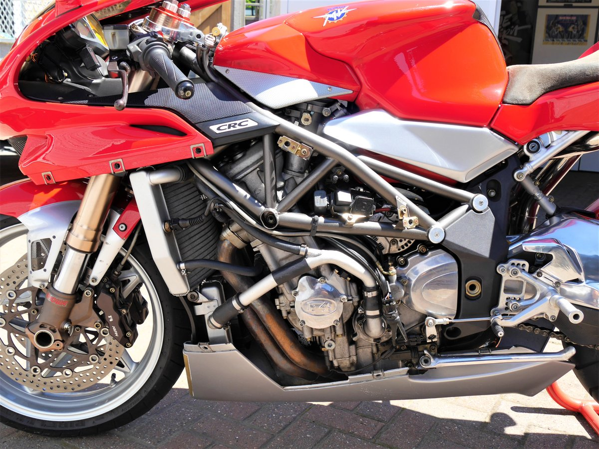 2000 MV Agusta 750F4 S, 7k miles W1N MV plate For Sale (picture 4 of 6)