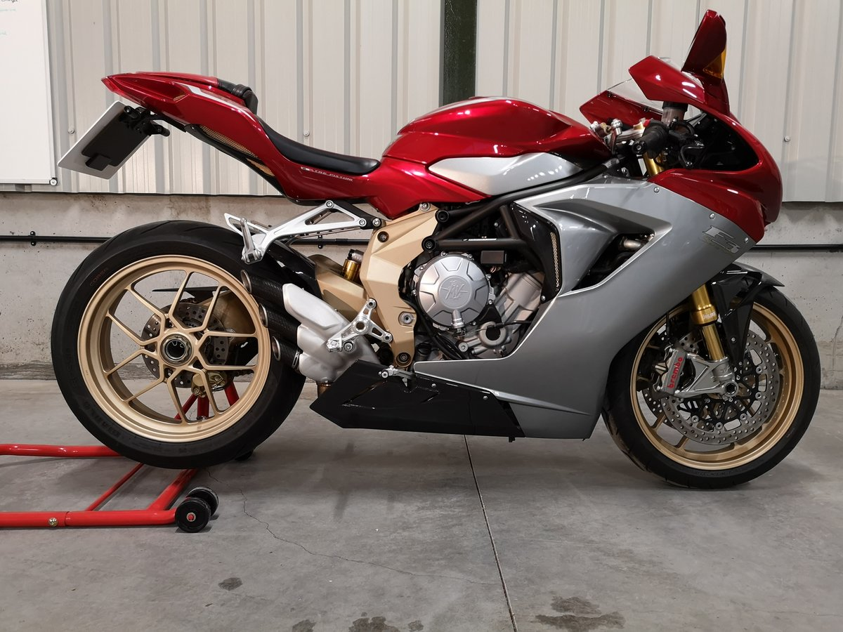 2012 MV Agusta F3 Serie Oro Limited Edition  SOLD (picture 1 of 6)