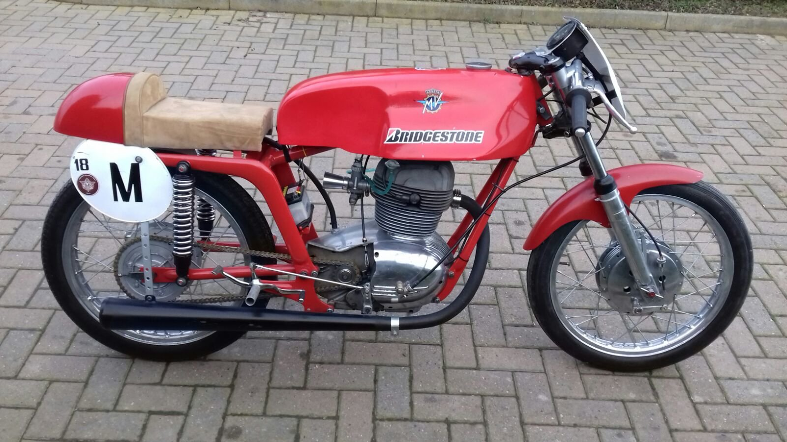 1954 Mv Agusta 175cc Cafe' Race  For Sale (picture 1 of 6)