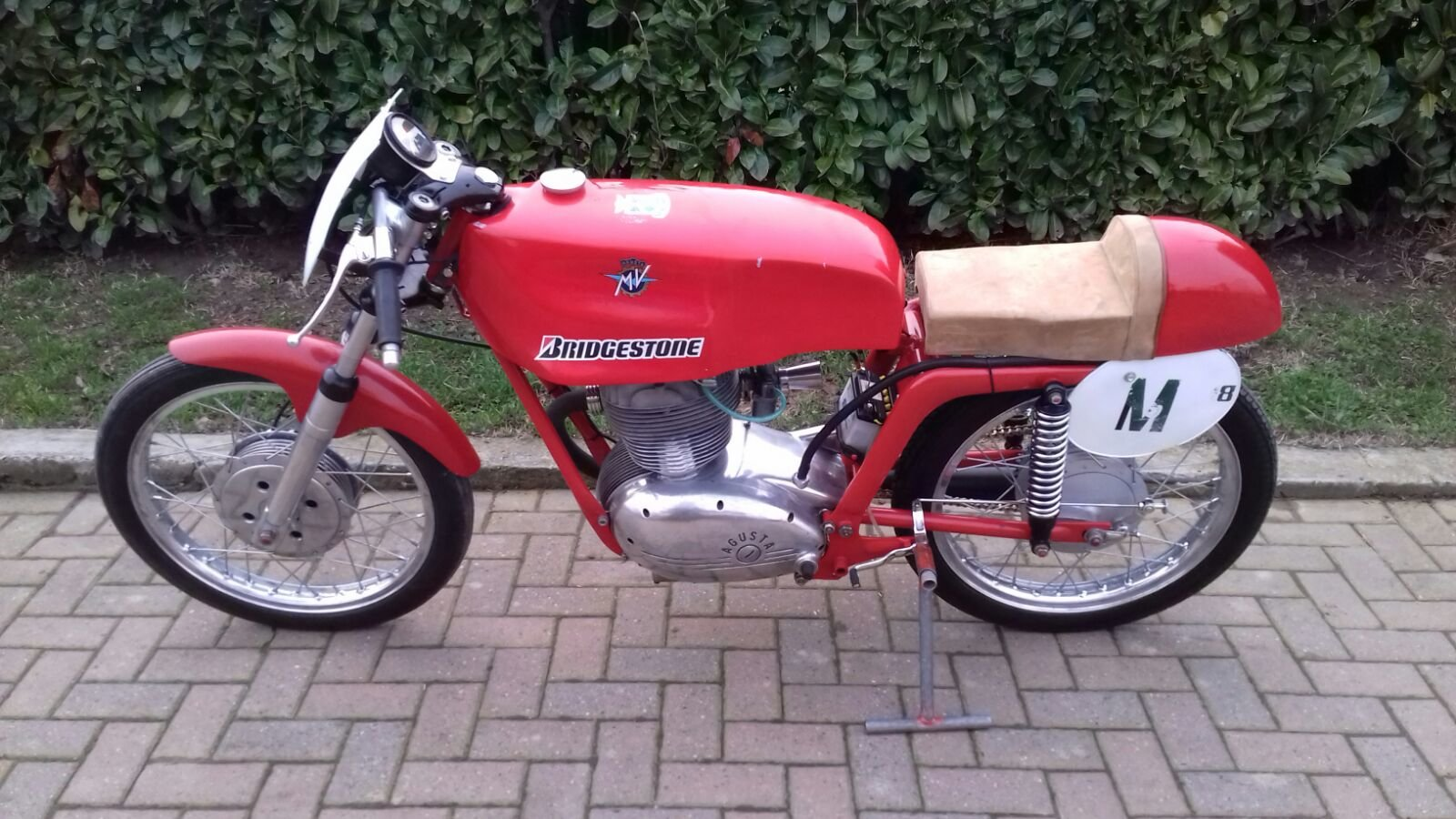 1954 Mv Agusta 175cc Cafe' Race  For Sale (picture 2 of 6)