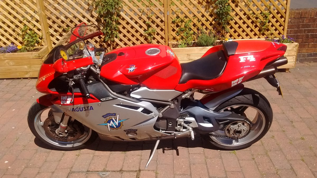 2001 MV Augusta 750 F4 For Sale (picture 1 of 5)