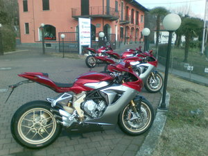 Picture of 2012 MV Agusta F3 675 Gold For Sale