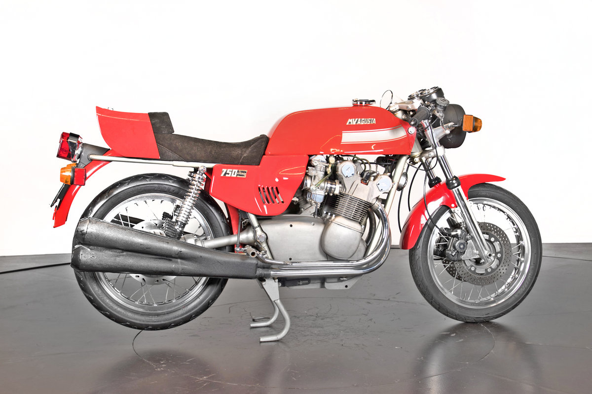 MV AGUSTA - 750 AMERICA - 1976 For Sale (picture 2 of 6)