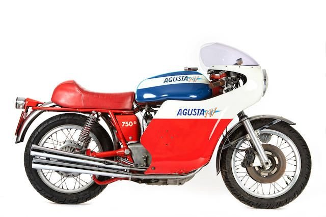 1974 MV AGUSTA 750S (LOT 415) SOLD by Auction (picture 1 of 1)
