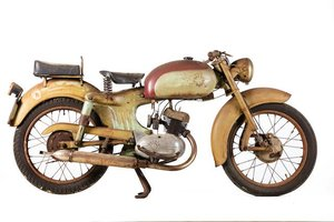 1957 MV AGUSTA 125CC SUPER PULLMAN PROJECT (LOT 544) For Sale by Auction