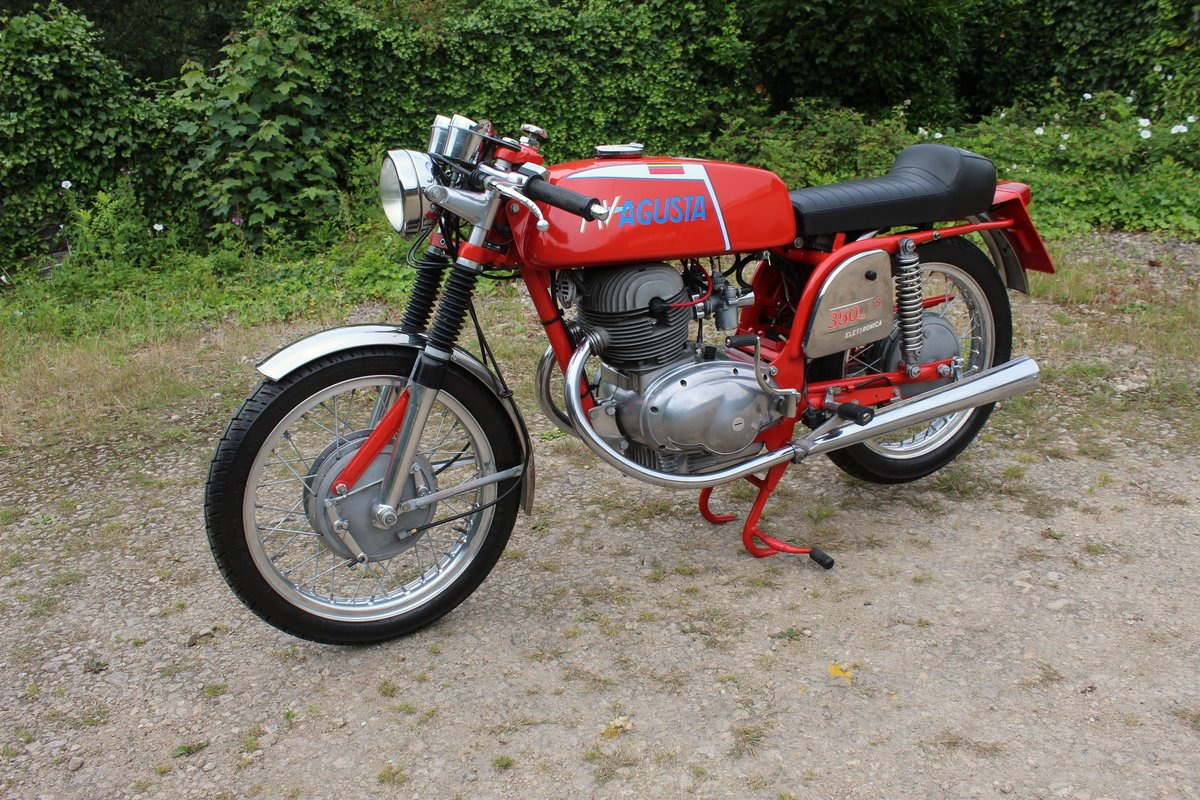 1973 MV Agusta 350 cc B Sport Twin OHV 5 Speed For Sale (picture 1 of 6)