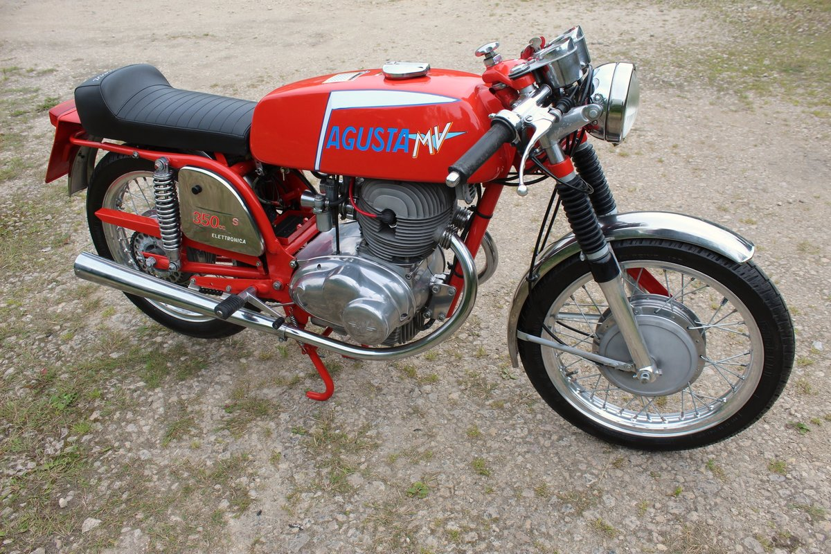1973 MV Agusta 350 cc B Sport Twin OHV 5 Speed For Sale (picture 4 of 6)
