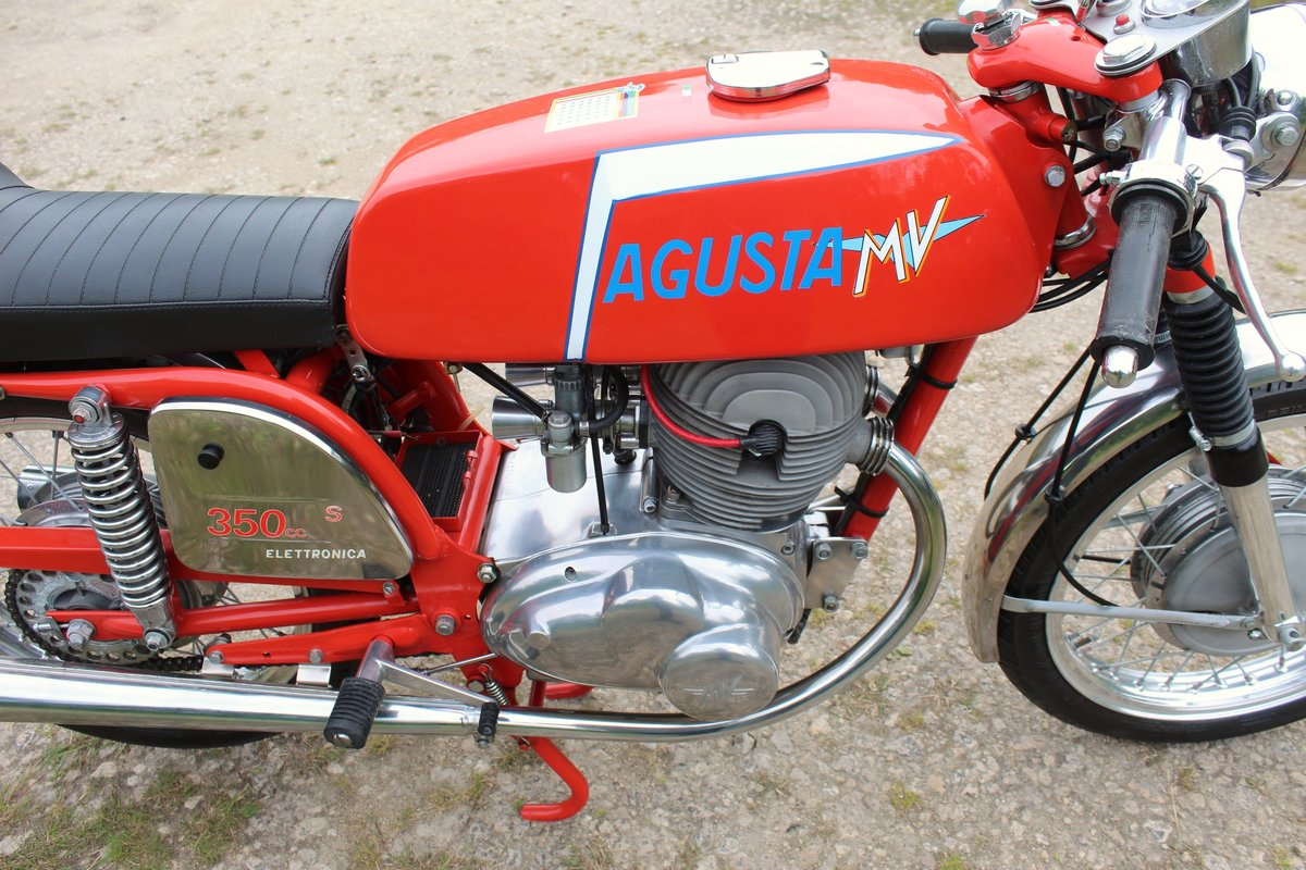 1973 MV Agusta 350 cc B Sport Twin OHV 5 Speed For Sale (picture 5 of 6)