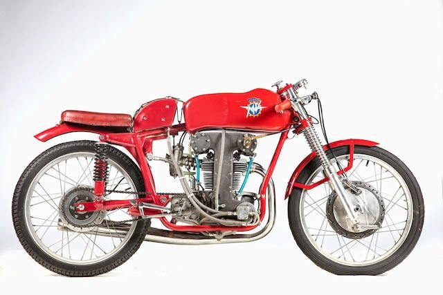 1953 MV AGUSTA 123.5CC BIALBERO RACING MOTORCYCLE (LOT 633) SOLD by Auction (picture 1 of 1)