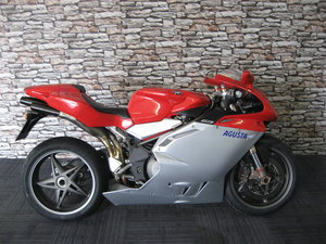 2000 W-reg MV Agusta 750F4 S finished in silver and red