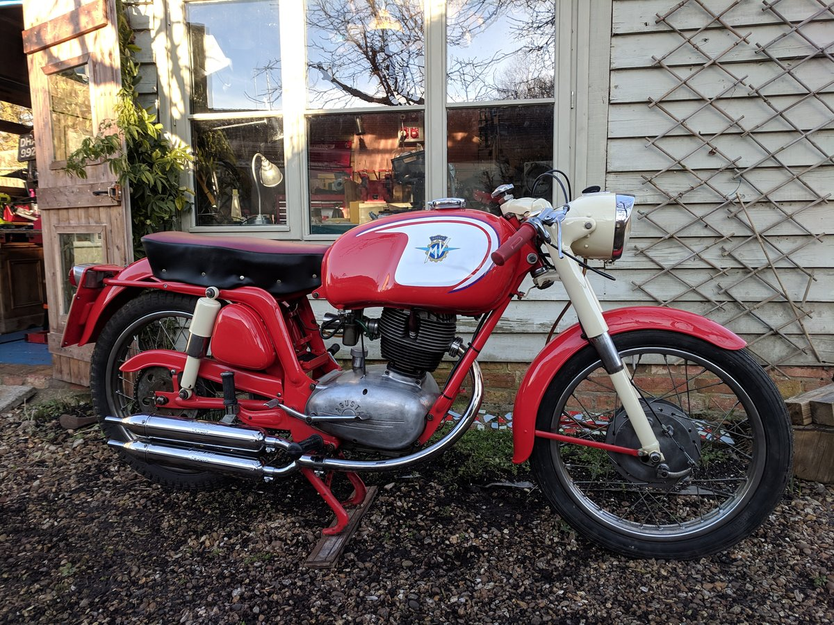 1960 MV Agusta 150 RS, ready for Moto Giro For Sale (picture 1 of 6)