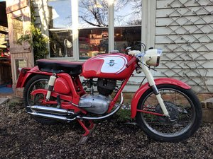 Picture of 1960 MV Agusta 150 RS, ready for Moto Giro