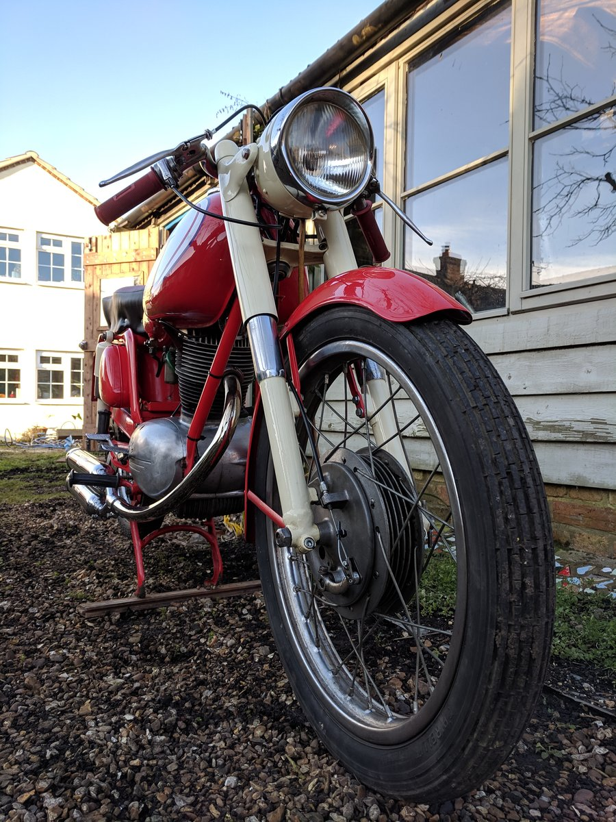 1960 MV Agusta 150 RS, ready for Moto Giro For Sale (picture 4 of 6)