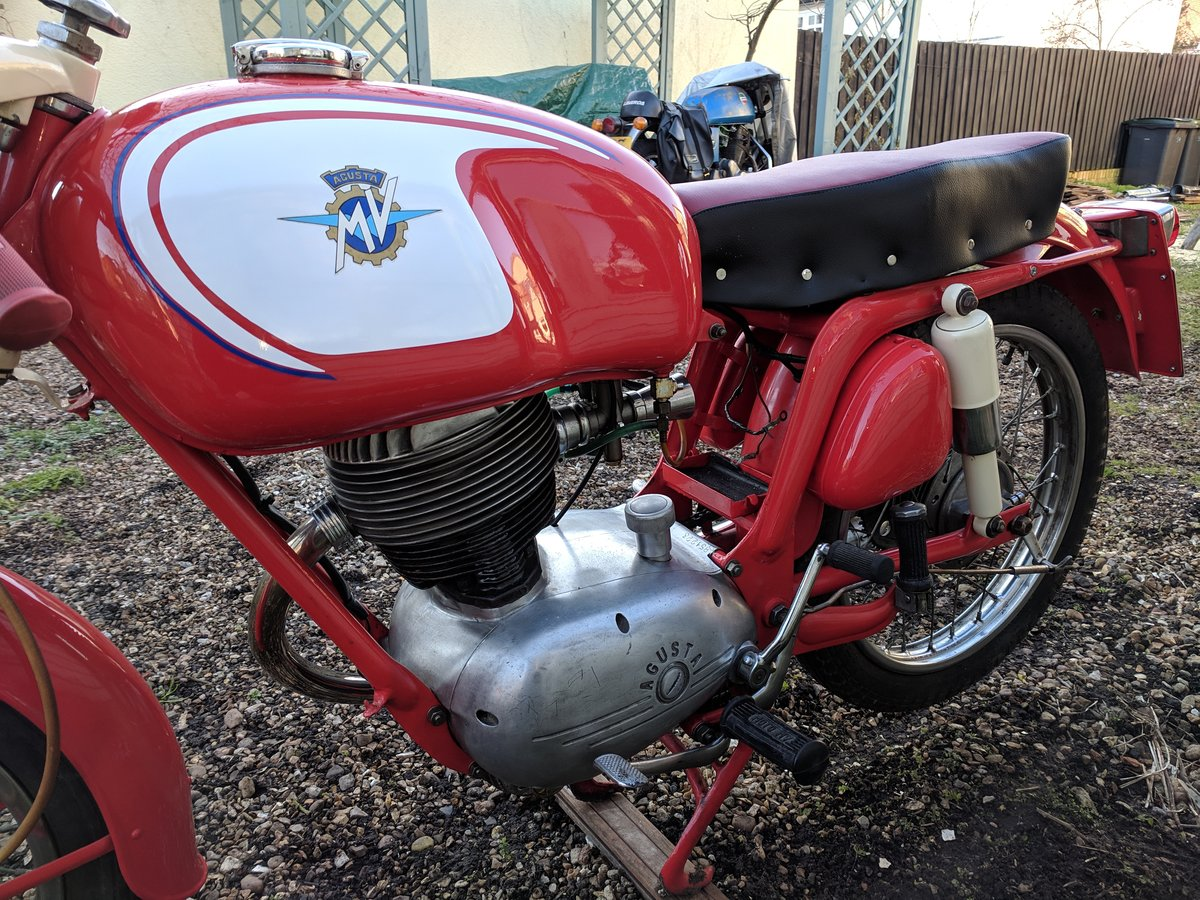1960 MV Agusta 150 RS, ready for Moto Giro For Sale (picture 5 of 6)