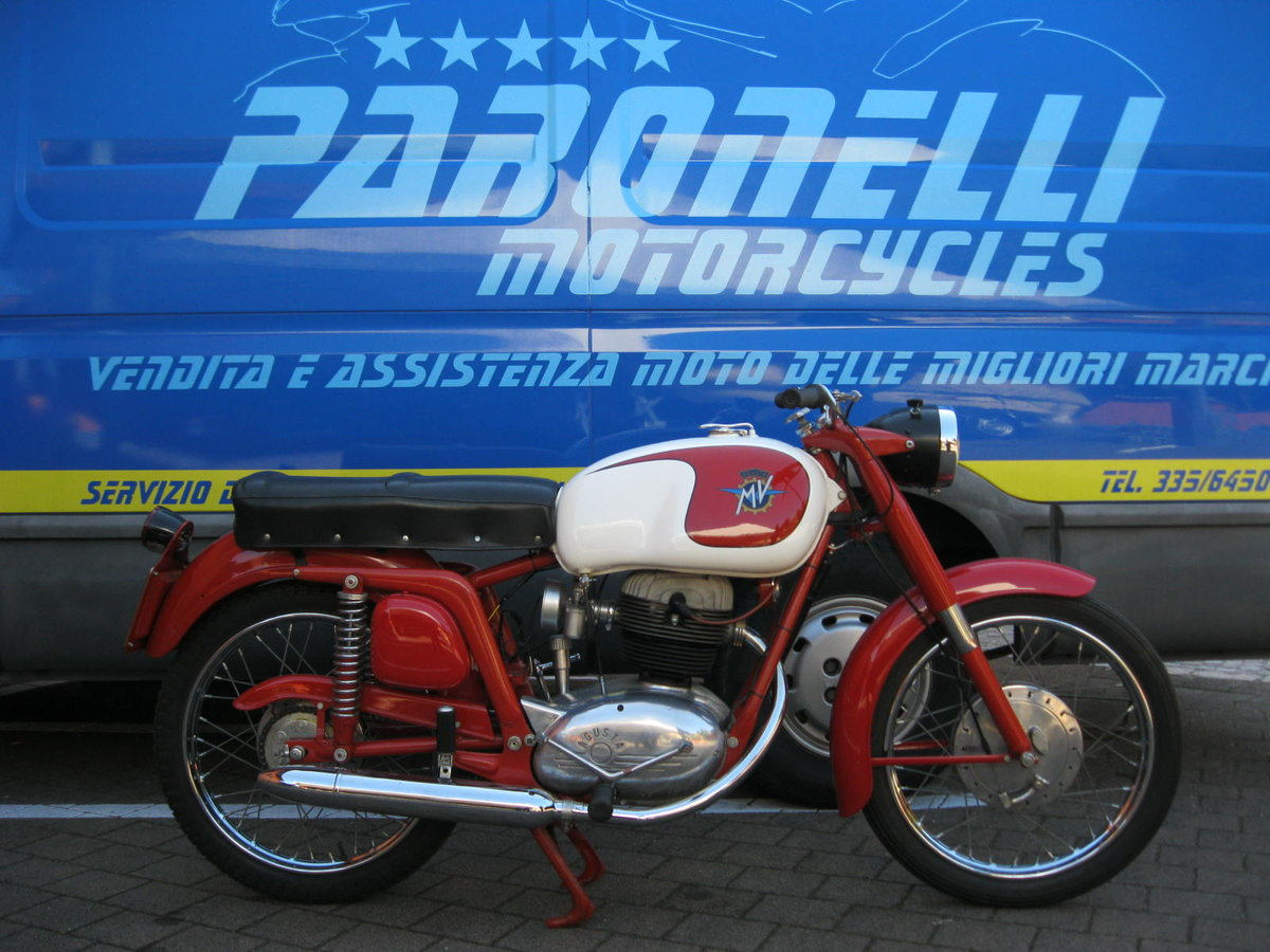 1955 MV Agusta 175 cc two units For Sale (picture 1 of 6)