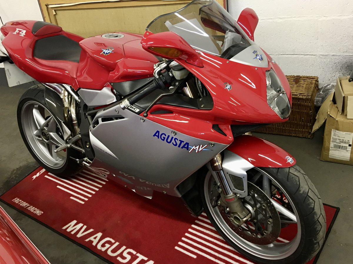 2001 MV Agusta F4 750S:2 AVAILABLE 1,800mls&6,600mls For Sale (picture 1 of 6)