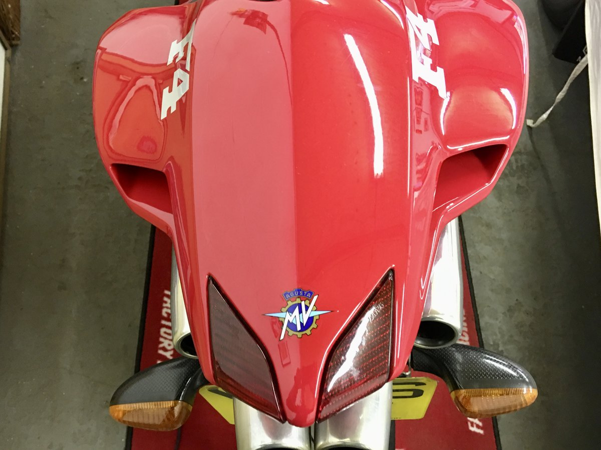 2001 MV Agusta F4 750S:2 AVAILABLE 1,800mls&6,600mls For Sale (picture 2 of 6)