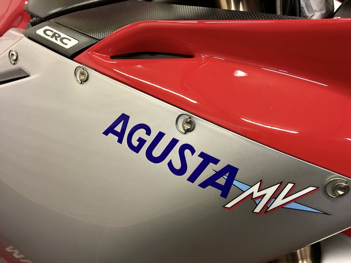 2001 MV Agusta F4 750S:2 AVAILABLE 1,800mls&6,600mls For Sale (picture 3 of 6)