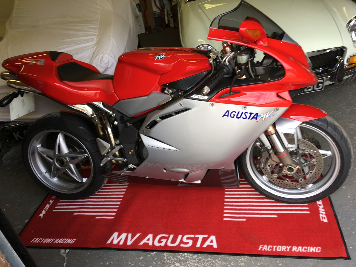 2001 MV Agusta F4 750S:2 AVAILABLE 1,800mls&6,600mls For Sale (picture 4 of 6)