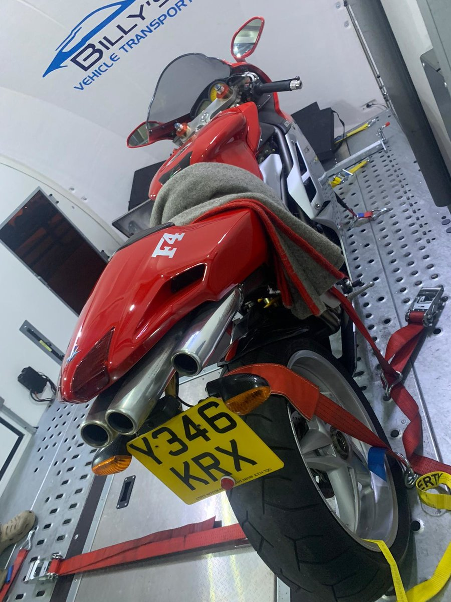 2001 MV Agusta F4 750S:2 AVAILABLE 1,800mls&6,600mls For Sale (picture 5 of 6)