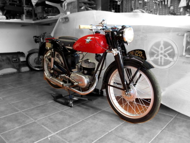 MV AGUSTA 125 TURISMO (1954) - EXCELLENT For Sale (picture 1 of 6)
