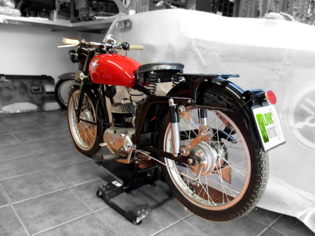 MV AGUSTA 125 TURISMO (1954) - EXCELLENT For Sale (picture 2 of 6)