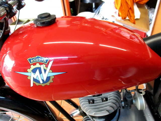 MV AGUSTA 125 TURISMO (1954) - EXCELLENT For Sale (picture 4 of 6)
