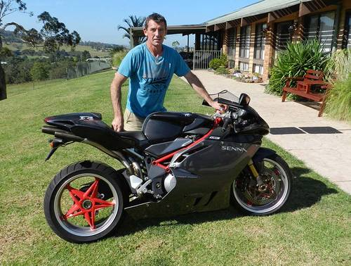 2002 Troy Corser MV F4 Senna For Sale (picture 1 of 6)