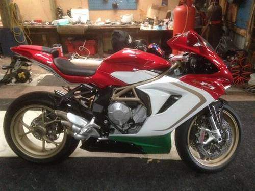 2012 Collectors dream  3x limited edition MV F3,s For Sale (picture 1 of 4)